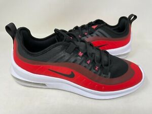 NEW Nike Mens Air Max Axis Shoes Lace Up Black Red #AA2146 800 127C az $62.99