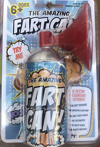 FARTS IN A CAN Whoopee Noise Maker Gas Prank 6 Sounds Horn Machine Funny Joke $9.99