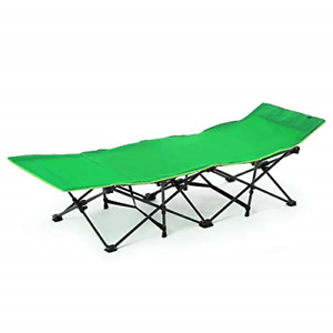 CAMPMAX Folding Camping Cots for Adults Most Comfortable Extra Wide Portable