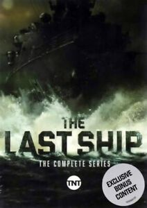 The Last Ship The Complete Series 15 DVD Box Set New Free Shipping $33.95