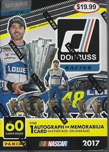 2017 Donruss Racing Cards Blaster Box NEW and Factory Sealed $19.99