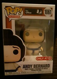 Funko POP The Office: Andy Bernard In Sumo Suit Target Exclusive 1061 w Protect $22.00