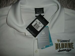 Nike Guinness Blonde Dri Fit Golf Shirt XXL New With Tags $25.00