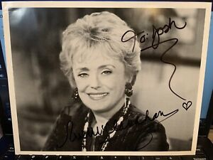 Rue McClanahan Original Signed 8x10 Photo Golden Girls Blanche Autograph $100.00