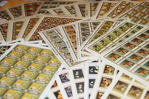 HUGE DEALER COLLECTOR LOT = FAMOUS ART PAINTING = FULL SHEETS C $125.00