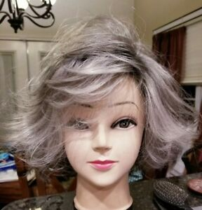 JACLYN SMITH *NEW* Malibu Waves Lace Front Wig in Silver Starlet 46 56 60 4 $80.00