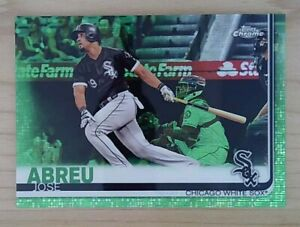 2019 Topps Chrome Green Refractor 99 Jose Abreu #89 $9.00