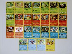 2021 Pokemon cards McDonalds 25th Anniversary Complete your Set Holos Non Holos $35.00