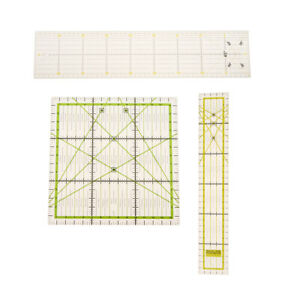 3 Pack Quilting Rulers Sets Plastic $17.87