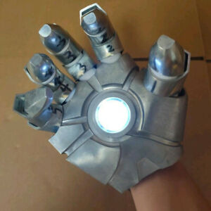Iron Man Metal Right Hand Palm Model Unassembled DIY Prop Model Light Accessory $131.59