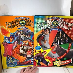 Ringling Brothers Barnum Bailey Circus 1997 and 1998 Program $12.00