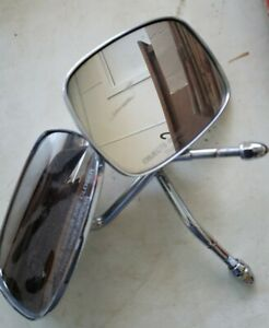 Chrome Rear View Mirrors Harley Davidson Motorcycle Used