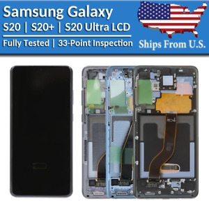 Samsung Galaxy S20 S20 Plus S20 Ultra LCD Replacement Screen Digitizer A $209.88