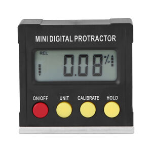 Horizontal Angle Meter Digital Protractor Inclinometer Electronic Level Box Y2Z4 $13.94