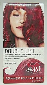 Splat Double Lift Permanent Hair Color Iconic Red For dark hair $14.99