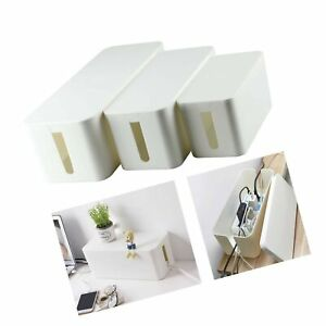 YaeCCC Cable Management Organizer Box Power Strips Hider Power Cords Hider fo... $37.99