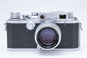 Canon II F 140701 Rangefinder Canon Lens 50mm F1.8 129723 Inspected Japan