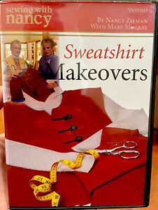 Sewing With Nancy: Sweatshirt Makeovers DVD 2005 $13.99