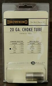 Browning Standard Invector Choke Tube for 20 Gauge Improved Cylinder 1130285 $26.99
