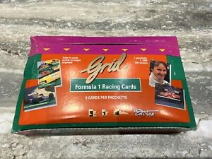 1992 GRID FORMULA 1 Racing Cards 24 Wax Pack Box Michael Schumacher Rookie RC $199.99