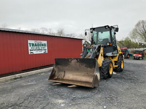 2008 New Holland LW50TC 4x4 Compact Wheel Loader w Cab Coupler Bucket Forks $27900.00