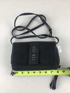 Stella And Dot Bag Purse Pouch 8x5 Hello Gorgeous Black Small