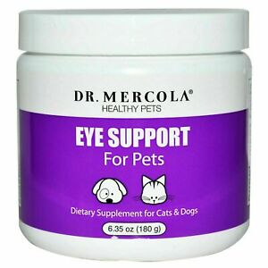 Dr. Mercola Eye Support For Pets 180 Grams Expires: 09 2021 $24.95