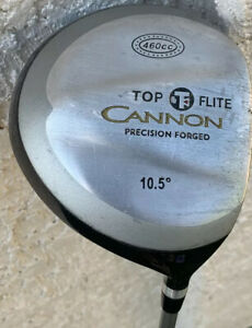 TOP FLITE CANNON PRECISION FORGED 460cc DRIVER.10.5*.MED FIRM GRAPHITE