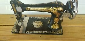1911 Vintage Model 15 quot;Sphinx Singer Sewing Machine $125.00