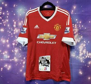 Sz Xl Wayne Rooney Manchester United Aon Jersey Barclays League Adidas