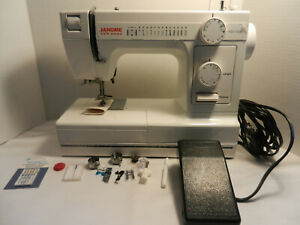 Janome HD1000 Sewing Machine White in Color Gently Used FREE SHIPPING $259.99