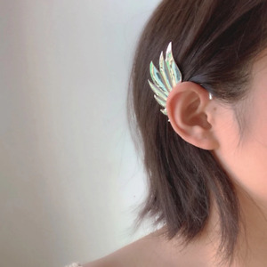 Fashion Feather Wing Ear Clip Women Girl Earring Jewlery Gold Silver Angle Wing $15.00