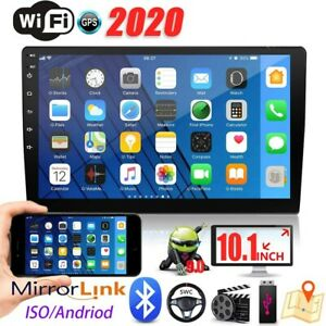 10.1#x27;#x27; Double 2 DIN Android 9.1 Bluetooth GPS Wifi Car Stereo Radio MP5 Player $125.99