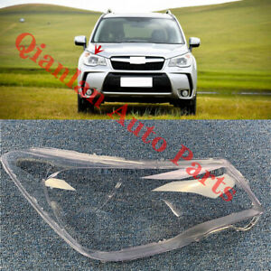Replace Right Side Lucency Headlight Cover Glue For Subaru Forester 2014 2018 $81.99