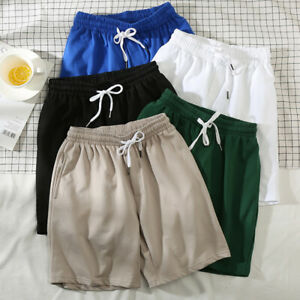 Plus Size Mens Running Shorts Pants Loose Short Trousers Training Casual Sports $12.79