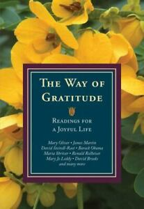 The Way of Gratitude: Readings for a Joyful Life $8.16