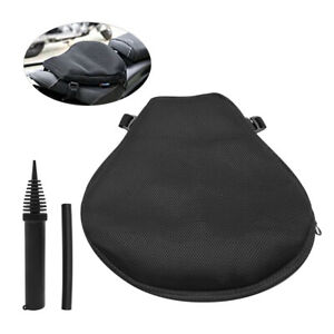 3D Motorcycle Air Seat Cushion Pressure Pad For Cruiser Touring Saddle Outdoor $25.19