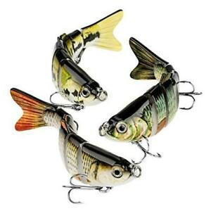 Bass Fishing Lure Topwater Bass Lures Fishing Lures Multi Jointed Swimbait