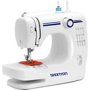 SKONYON Mini Sewing Machine Portable Automatic Sewing Machines with 12 Built in $88.87
