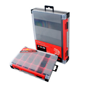Fishing lure Box Lures Hook Double sided Storage Waterproof Fishing Tackle Box