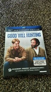 Good Will Hunting Blu ray 15th Anniversary Edition with Slipcover