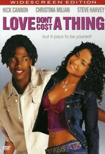 Love Don#x27;t Cost A Thing DVD 2003 WS SNAP CASE Nick Cannon Steve Harvey NEW $5.95