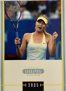 2005 ACE JAPAN MARIA SHARAPOVA RC #MS 37 ROOKIE RC SPECIAL EDITION