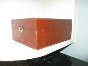 Vintage VSQ Vista Of Tampa Cigar Box and Old Sewing Notions Buttons Binding $12.00