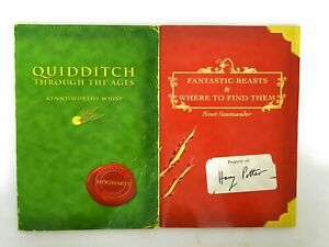 Harry Potter Quidditch Through Ages Fantastic Beasts First 1st Edition Printing $29.99