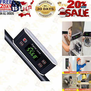 Electronic Inclinometer Digital Protractor Level Angle Finder and Gauge Tools $51.95