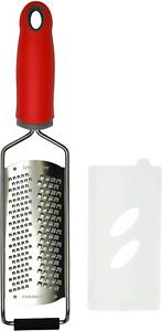 Cheese Grater Citrus Zester Fine and Coarse 2in1 Premium Quality Stainless Steel