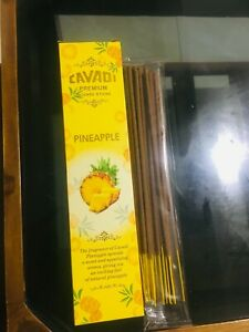incense sticks 20 hand bulk heavily natural pineapple scent dipped bundle packet $10.99