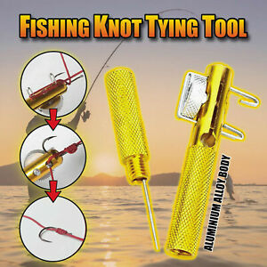 Practical Knot Line Tying Knotting Tool Manual Fast Portable Fishing Supplies