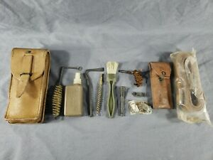 Vtg Original French Military MAS 49 56 Rifle CLEANING SPARE PARTS KIT Surplus $60.00